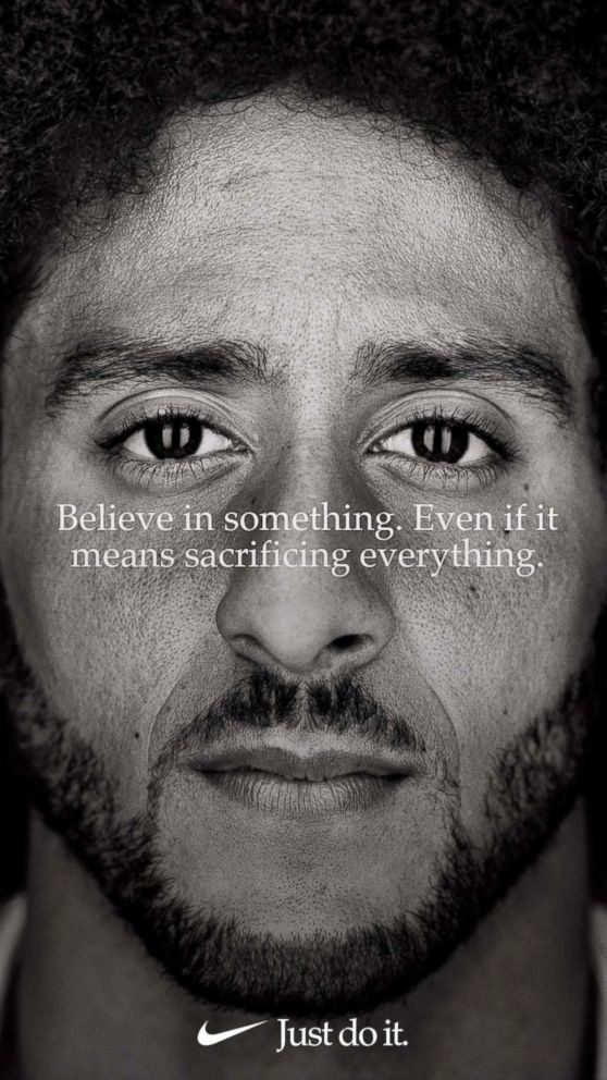 Colin Kaepernick is the new face of Nike.