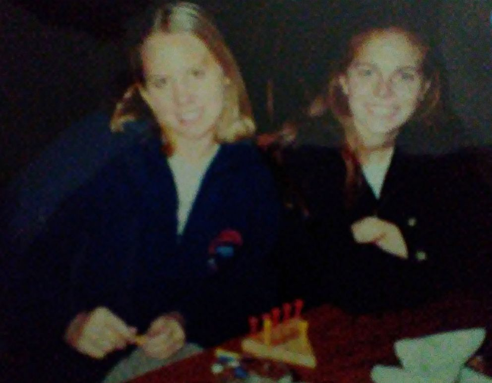 PHOTO: Michelle Porter seen in an undated photo with her childhood friend, Carly Witt Jones.