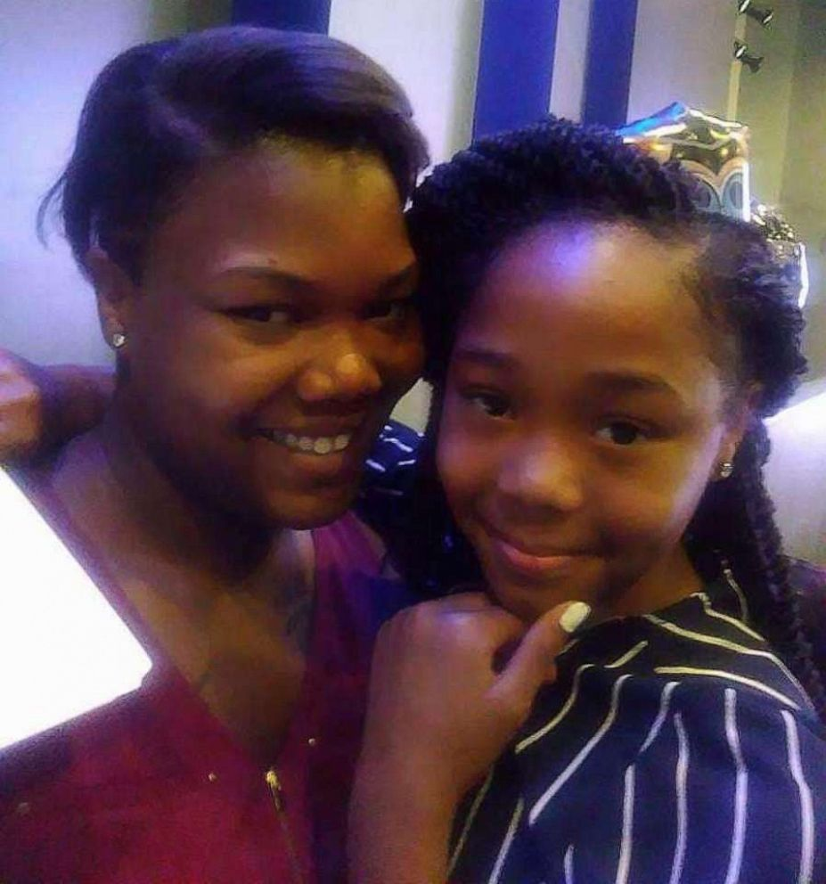 PHOTO: Kashala Francis, 13, poses with her mother, Mamie Jackson, in this undated photo. Kashla slipped into a coma just days after she was jumped by a group of girls while walking home from school.