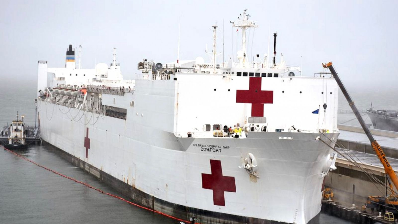 What To Know About The Navy Hospital Ships Coming To New York And