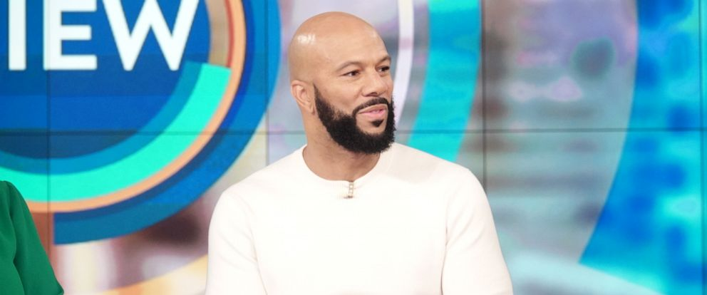 """PHOTO: Common opens up on """"The View"""" about his therapy and the important of spreading love on Tuesday, May 7, 2019."""