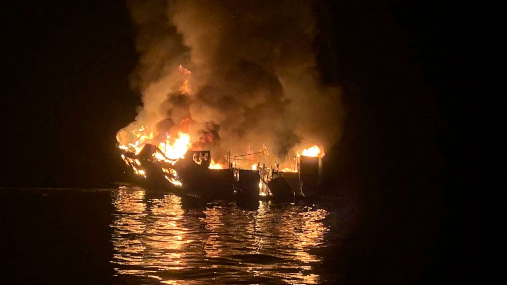 conception boat fire file 01 ap jef 200113 hpMain 16x9 992 - Wrongful death lawsuit filed against owner of boat that caught on fire, killing 34