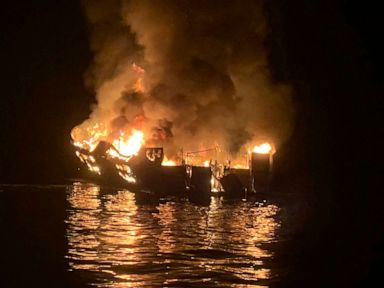 Captain charged with seaman's manslaughter in boat fire that killed 34