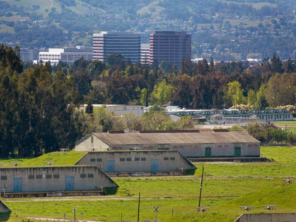 PHOTO: The city of Concord, Calif., is visible behind the Concord Naval Weapons Station, circa 2005.