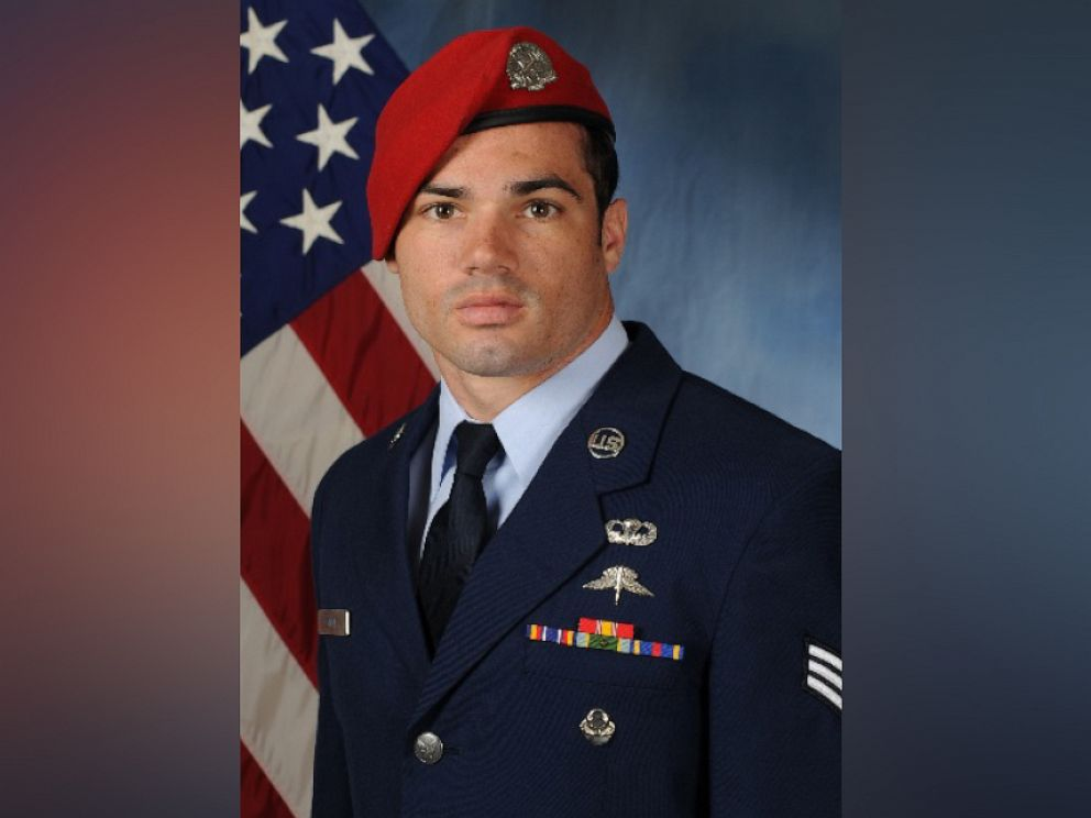 PHOTO: U.S. Air Force Staff Sgt. Cole Condiff, 29, was identified as the airman who went missing after he fell from a C-130 aircraft last week.
