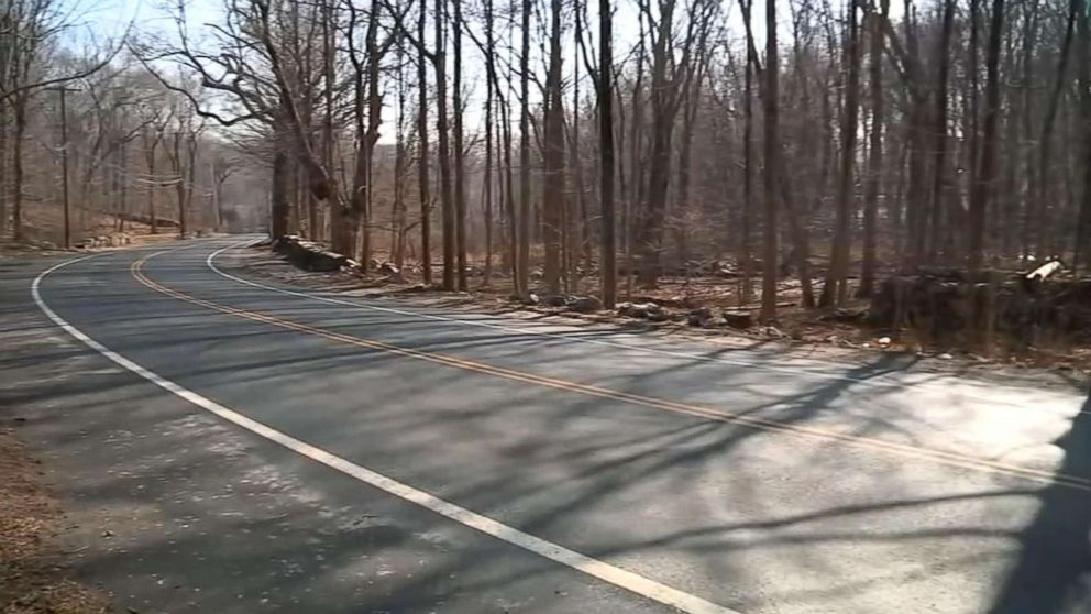 A young woman's bound body was discovered in a suitcase along the side of a road in Greenwich, Conn., Feb. 5, 2019.