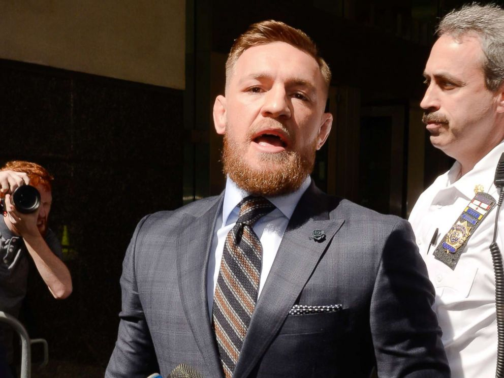 Conor McGregor due back court after Barclays backstage brawl