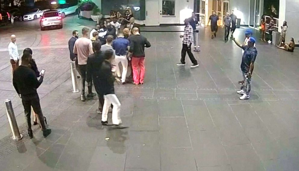 PHOTO: Conor Mcgregor is seen in this image made from footage obtained from surveillance video.