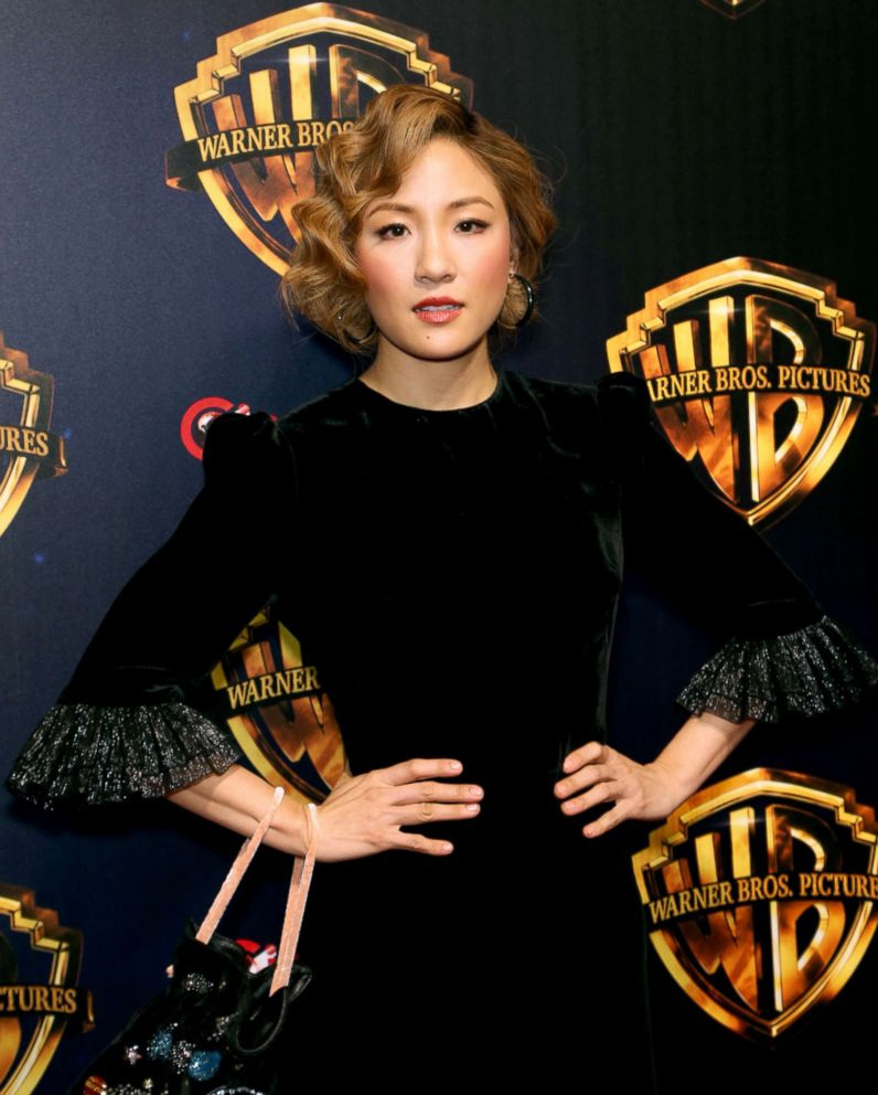PHOTO: Constance Wu attends CinemaCon 2018 at the Colosseum at Caesars Palace, April 24, 2018, in Las Vegas.