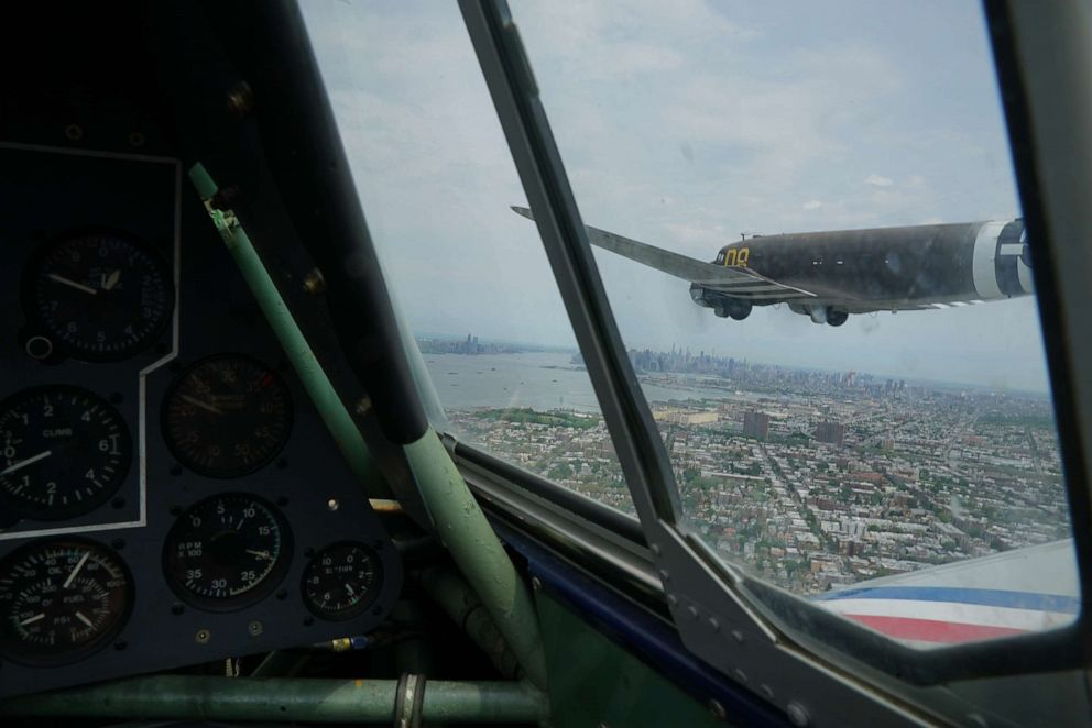 PHOTO: A C-47, aka Gooney Bird, was also part of the show.