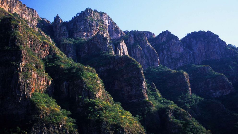 A stock photo of Copper Canyon National Park in Chihuahua, Mexico.
