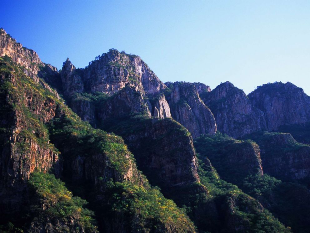 PHOTO: A stock photo of Copper Canyon National Park in Chihuahua, Mexico.