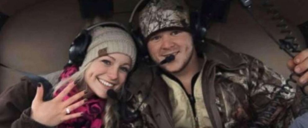 A young Texas couple died in a helicopter crash right after getting married.