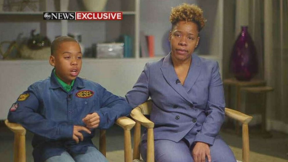 """Jeremiah Harvey and his mother Someko Bellille spoke to """"GMA"""" about being falsely accused of grabbing a woman at a convenience store in New York City."""
