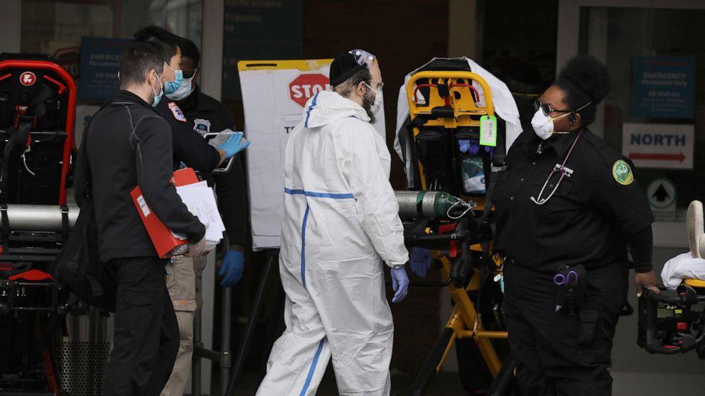 Mit coronavirus apex noch kommen, einigen US-Krankenhäusern eingeholt von kapazitätskrise