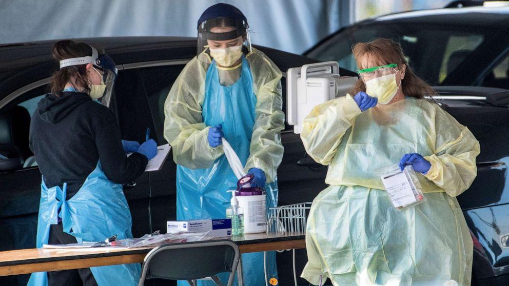 Στο ξέσπασμα μπροστά γραμμές, ιατρικό προσωπικό φόβο μάσκα δελτίο θα αυξήσει τους κινδύνους