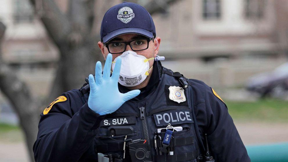 To enforce coronavirus distancing, police say arrests are last resort thumbnail