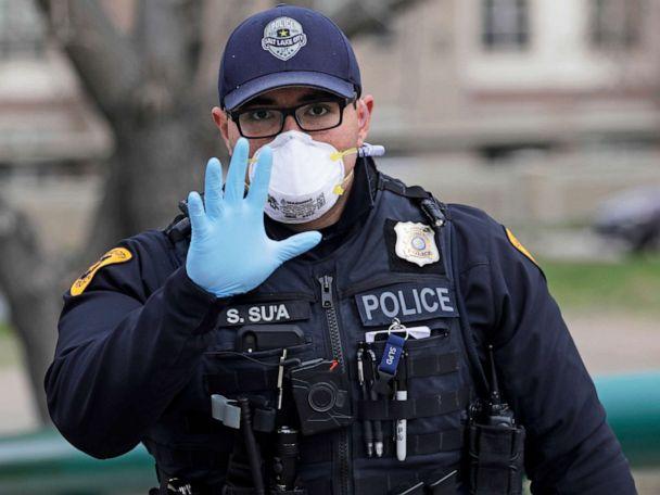 To enforce coronavirus distancing, police say arrests are last resort