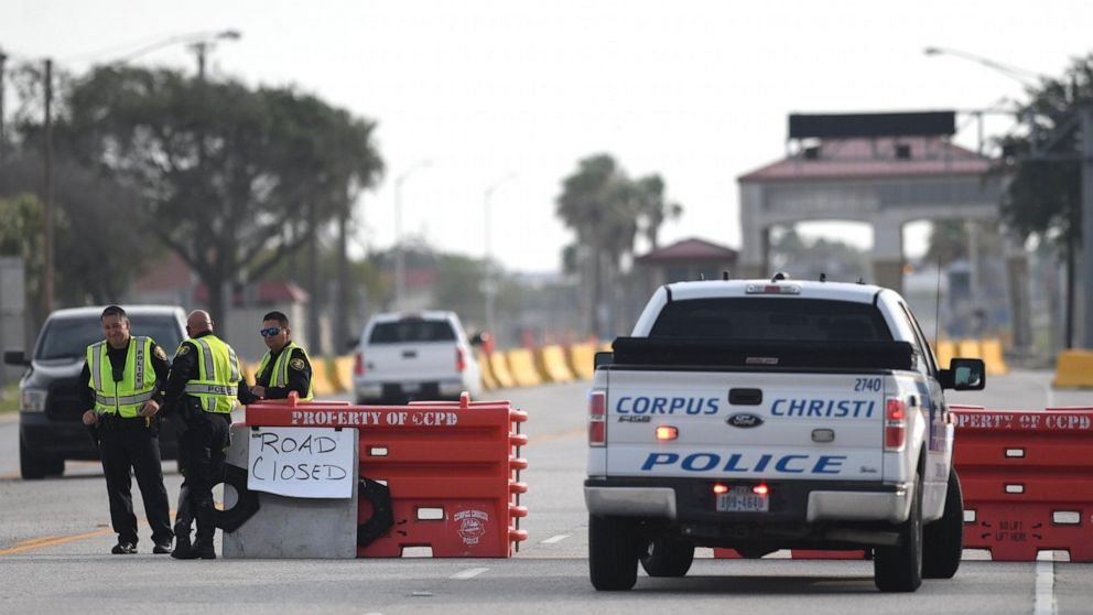 Naval Air Station Corpus Christi shooting terror-related, person of interest may be-at-large