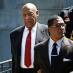 Actor and comedian Bill Cosby exits Montgomery County Courthouse after a jury convicted him in a sexual assault retrial in Norristown, Pa, April 26, 2018.