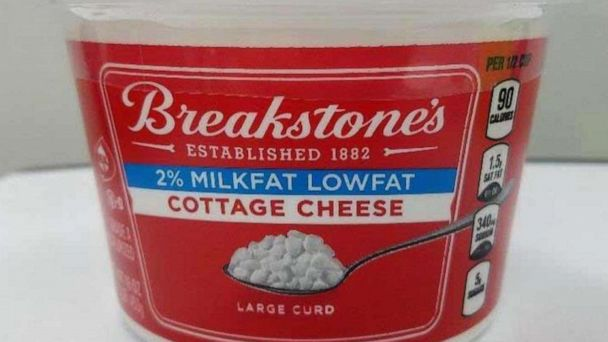 Breakstone's cottage cheese voluntarily recalled over possible metal and plastic contamination