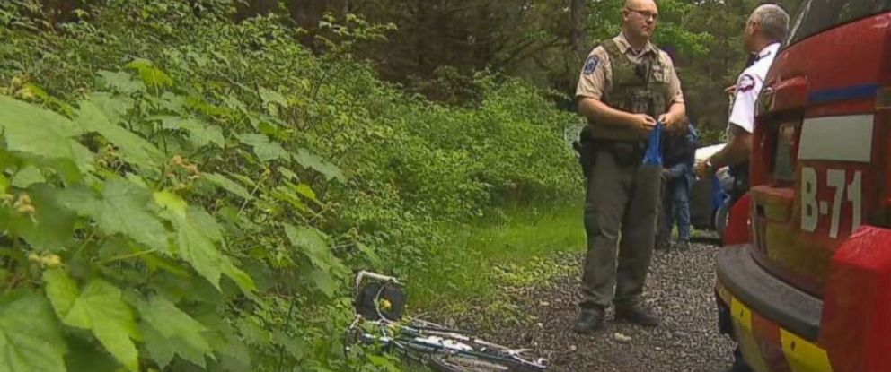 A mountain biker was killed by a cougar near North End, Wash., on Saturday, May 19, 2018.