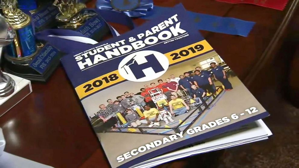 PHOTO: A school disciplinary board told 12-year-old Christian Philon that he violated The Henry County Student & Parent Handbook code of conduct by possessing and using a counterfeit $20 bill.