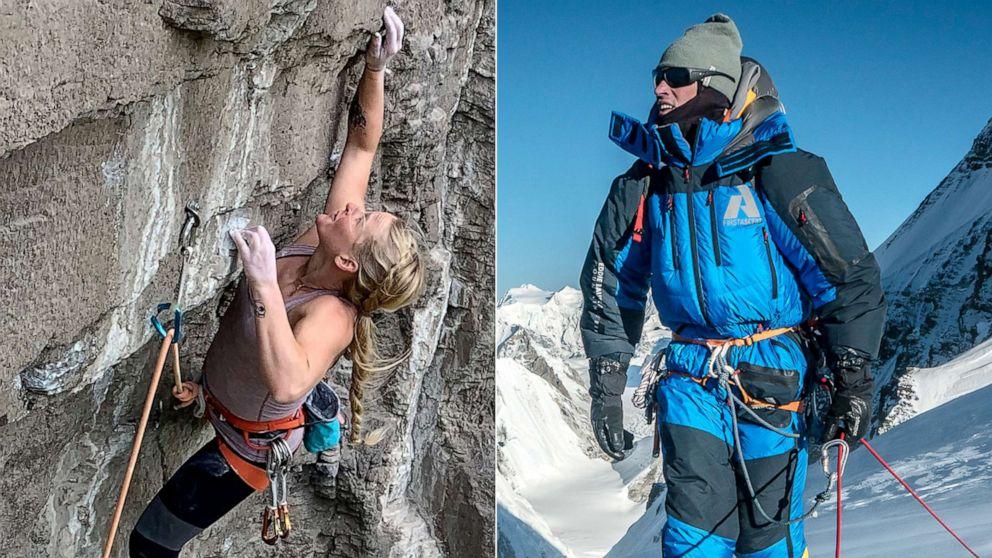 Rock climber Emily Harrington | Mountaineer Adrian Ballinger