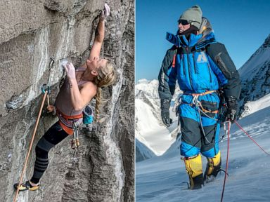 PHOTO: Rock climber Emily Harrington | Mountaineer Adrian Ballinger