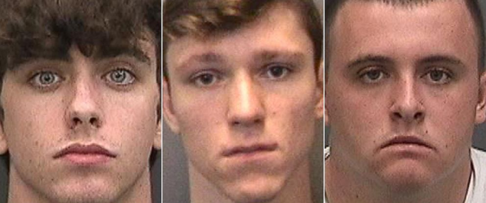 PHOTO: Tampa police say streetracers Cameron Coyle Herrin, 18, John Alexander Barrineau, 17, and Tristan Christopher Herrin, 20 , killed mom pushing a stroller while they were street racing may 23, 2018.