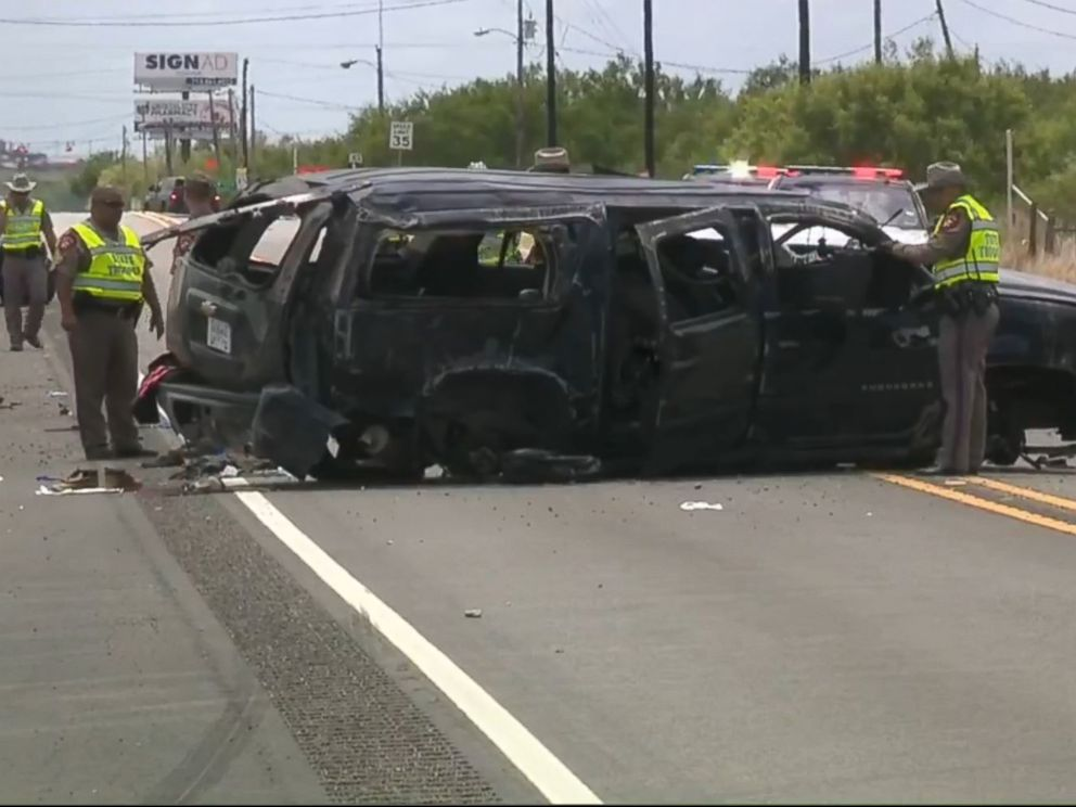 5 dead as SUV chased by Border Patrol crashes in South Texas""
