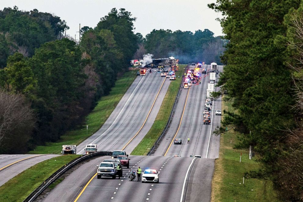 Florida Car Accident: 5 Kids In Church Group Die In Crash On Way To Disney World