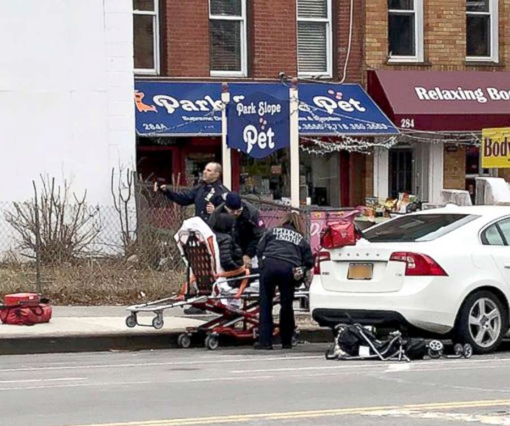 PHOTO: Two children were killed in a crash in Park Slope, Brooklyn, in March 2018.
