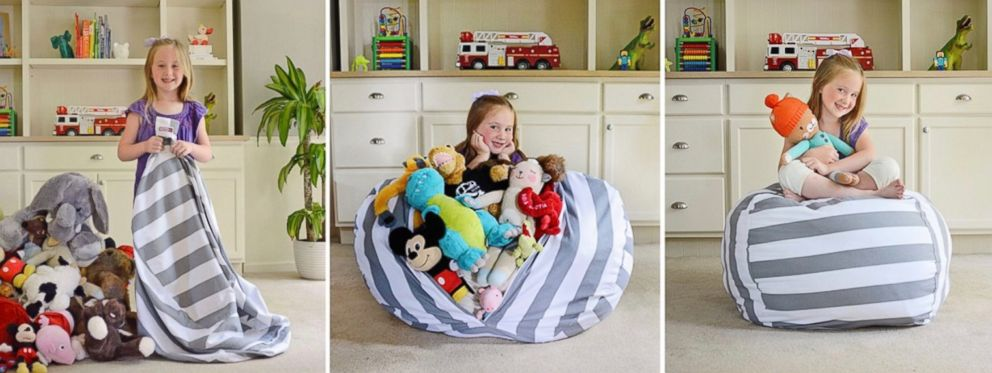 Creative QT: Stuff 'n Sit products are pictured here.