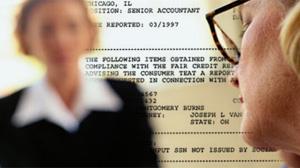 credit report/ job interview