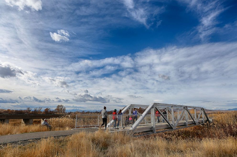 PHOTO: Montana Headwaters Trail; will be part of Great American Rail Trail