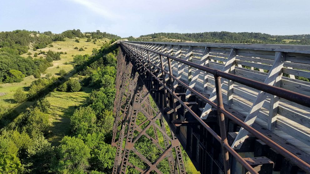PHOTO: Nebraska Cowboy Trail; will be part of Great American Rail Trail.