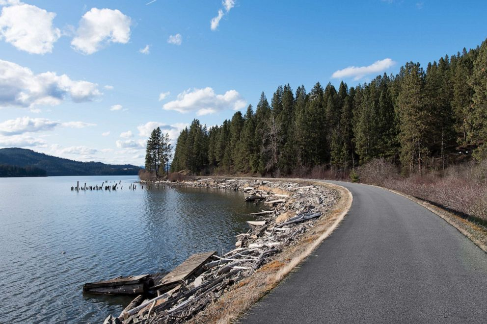 PHOTO: Trail of the Coeuer dAlenes in Idaho; will be part of Great American Rail Trail