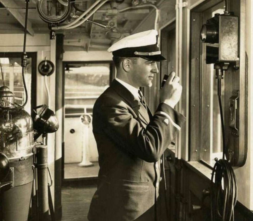 PHOTO: Lt. James Crotty as an ensign aboard a Coast Guard cutter. Crotty served aboard several cutters and on both coasts of the U.S. including Alaska before departing for the South Pacific.
