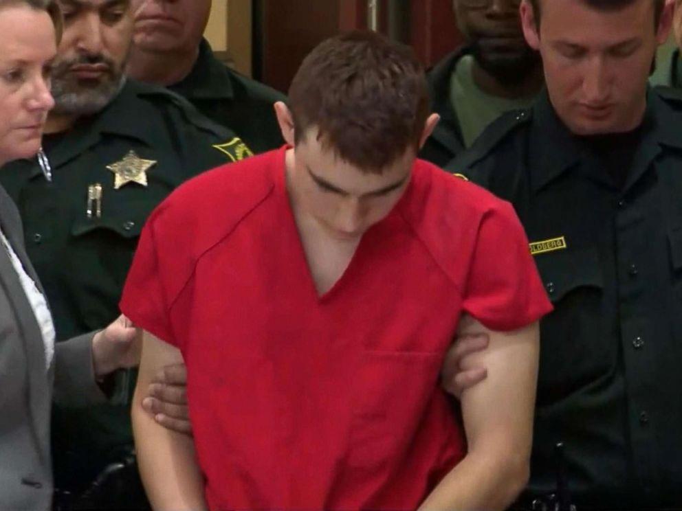 PHOTO: Nikolas Cruz appears in court, Feb. 19, 2018.