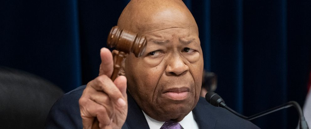 FILE - In this Tuesday, April 2, 2109 file photo, House Oversight and Reform Committee Chair Elijah Cummings, D-Md., leads a meeting to call for subpoenas on Capitol Hill in Washington.