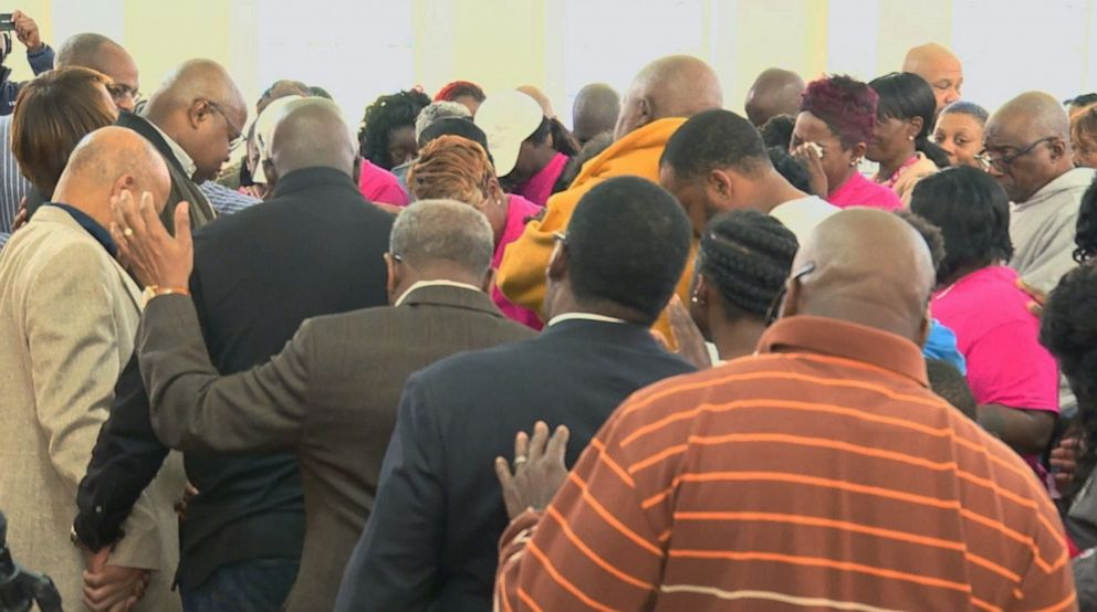 PHOTO: Prayer service in Birmingham for Kamille Cupcake McKinney