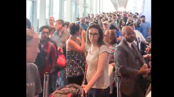 Customs system back online after delays from nationwide outage