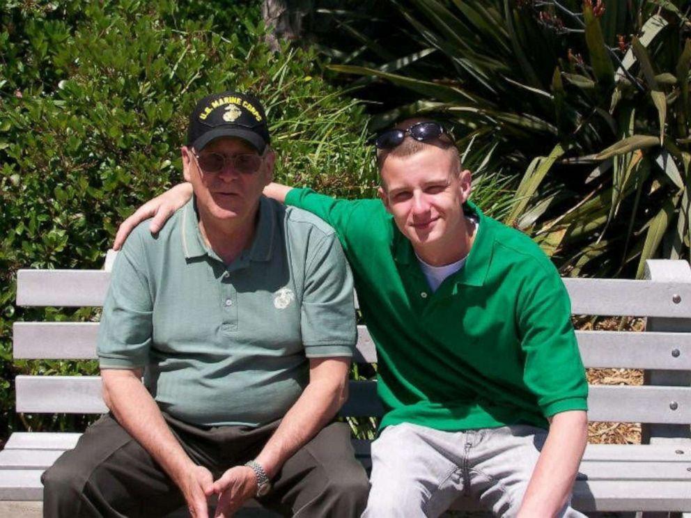 PHOTO: Dana OB OBrien and his grandson, Daniel.