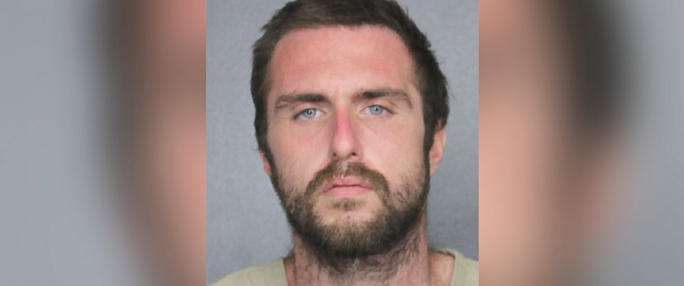 PHOTO: Daniel James Dunkelberger is pictured in a booking photo released by the Hallandale Beach Police Department.