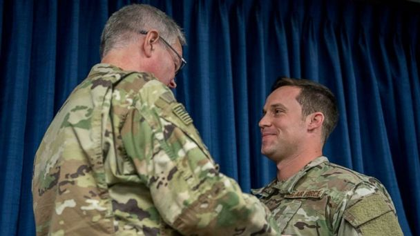 Special operations airman awarded for heroic actions during combat mission against ISIS in Afghanistan