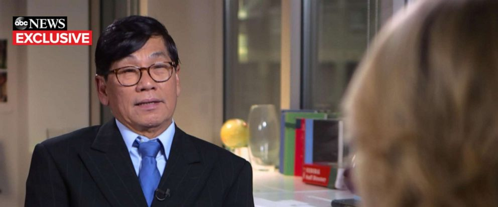 PHOTO: David Dao, the doctor dragged off a United Airlines flight in April 2017, told ABC News that he cried the first time he saw the viral video of the violent incident.