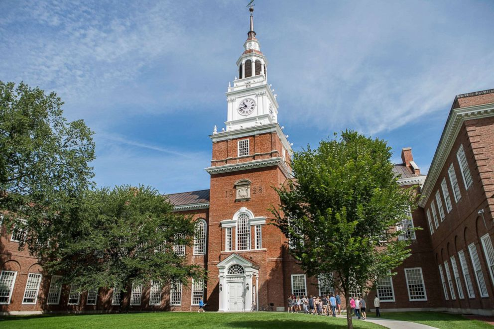 PHOTO: The Baker-Berry Library at Dartmouth College in Hanover, New Hampshire.