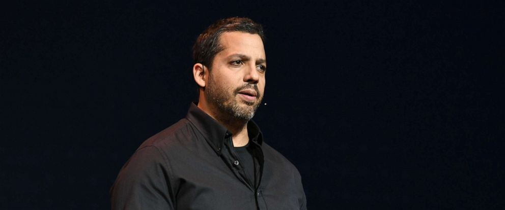 PHOTO: Magician & Endurance Artist David Blaine speaks onstage during the Onward18 Conference, Oct. 24, 2018, in New York City.
