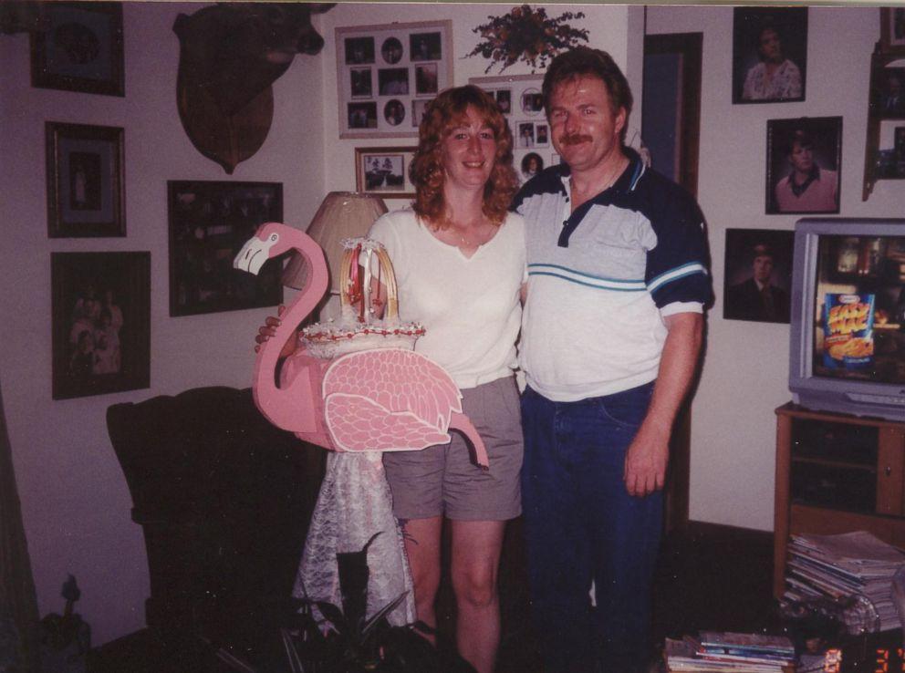 PHOTO: Stacey Castor met her second husband, David Castor, through her boss in 2001.